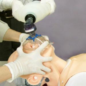2 - Ventilação bolsa-válvula-máscara
